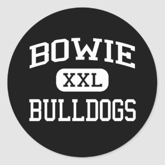 Bowie - Bulldogs - High School - Austin Texas Classic Round Sticker