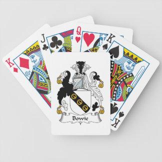 Bowie Family Crest Card Decks