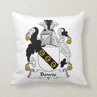 Bowie Family Crest Pillows