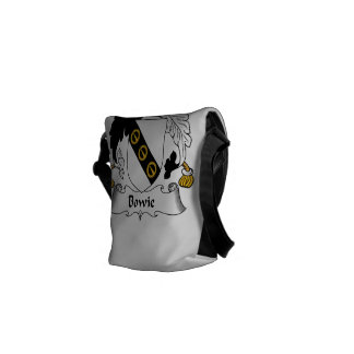 Bowie Family Crest Messenger Bags