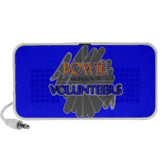 Bowie High School Volunteers Arlington TX Notebook Speakers