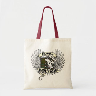 Bowie Just Ride Canvas Bag