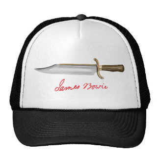 Bowie Knife Mesh Hat
