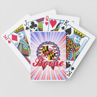 Bowie MD Bicycle Playing Cards