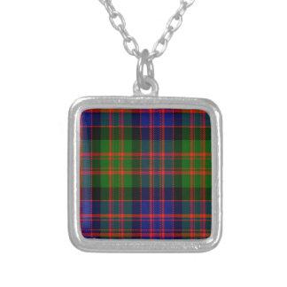 Bowie Square Pendant Necklace