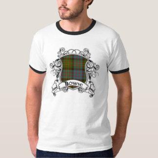 Bowie Tartan Shield T-Shirt