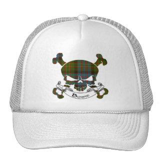 Bowie Tartan Skull Hat