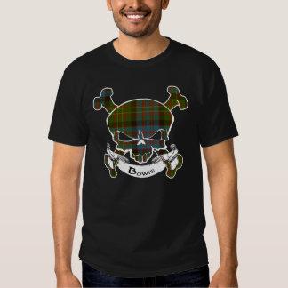 Bowie Tartan Skull Shirt