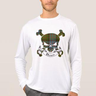 Bowie Tartan Skull Tee Shirts