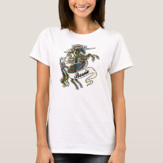 Bowie Tartan Unicorn T-Shirt
