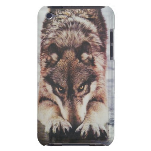 Bowing Wolf iPod Case-Mate Cases