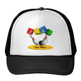 Bowl a Rama Bowling Hats