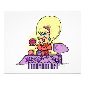 bowl-a-rama mama 11.5 cm x 14 cm flyer