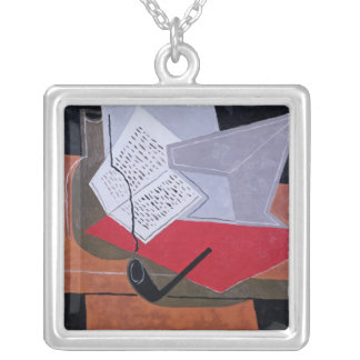 Bowl and Book Necklace