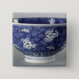 Bowl decorated with cherry blossom 15 cm square badge