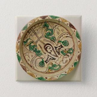 Bowl (earthenware) 15 cm square badge