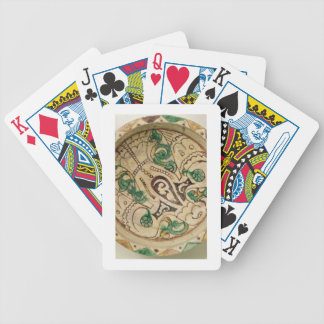 Bowl (earthenware) bicycle playing cards