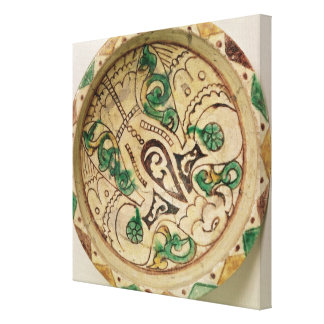 Bowl (earthenware) canvas print