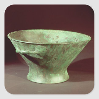 Bowl from one of the Chamber Tombs, Mycenae Square Sticker