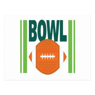 Bowl Game Postcard