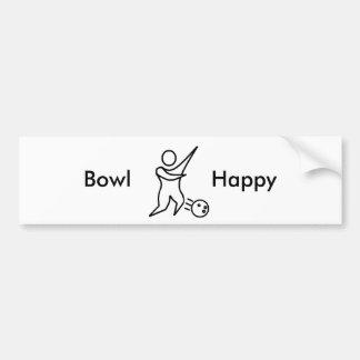 Bowl Happy 01, Bumper Stickers