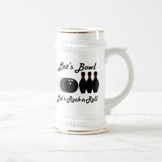 Bowl Let's Rock-n-Roll Mugs