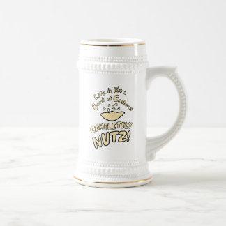 Bowl of Cashews Beer Stein