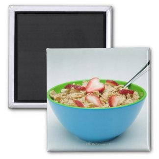 Bowl of cereal magnet