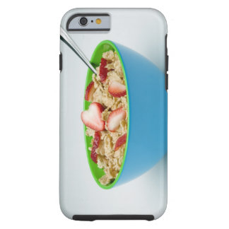 Bowl of cereal tough iPhone 6 case