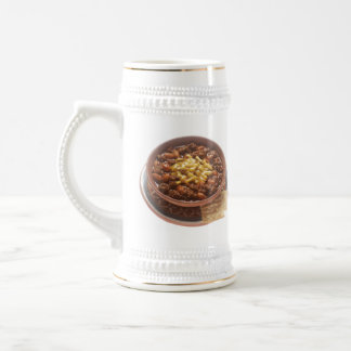 Bowl of Chili Beer Steins