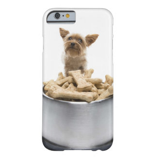 Bowl of dog treats by Yorkshire Terrier Barely There iPhone 6 Case