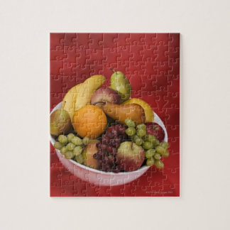 Bowl of fresh fruits jigsaw puzzle