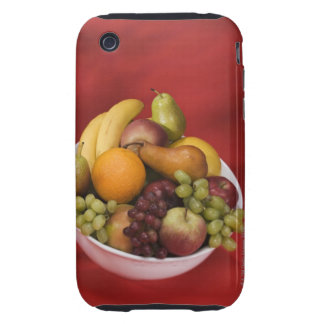 Bowl of fresh fruits tough iPhone 3 case