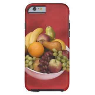 Bowl of fresh fruits tough iPhone 6 case