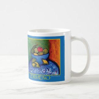 """Bowl of Fruit"" by Zermeno Classic White Coffee Mug"