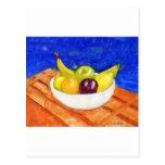 Bowl of Fruit Postcard