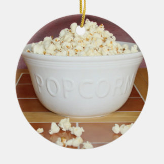 Bowl of Popcorn Christmas Ornament