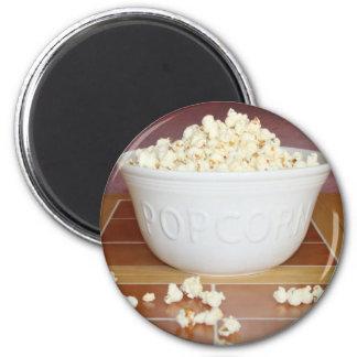 Bowl of Popcorn Magnet