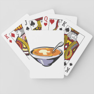 Bowl Of Soup Playing Cards
