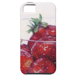 Bowl of Strawberries iPhone 5 Cases
