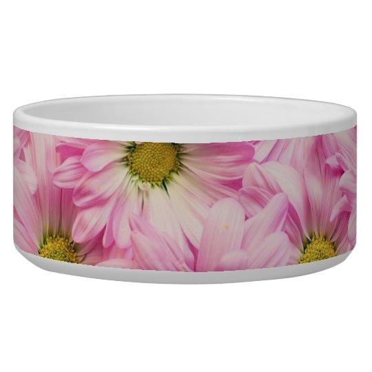 Bowl - Pink Gerbera Daisies
