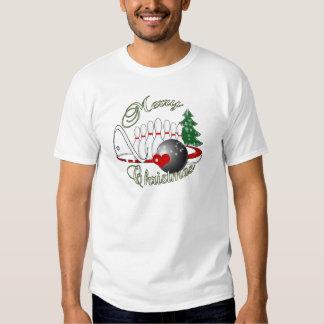BOWLER / BOWLING MERRY CHRISTMAS TEE SHIRTS