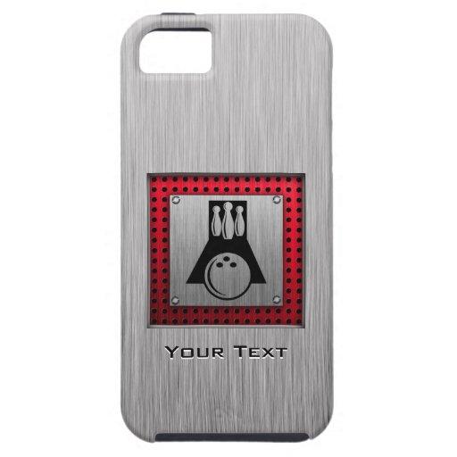 Bowler; Brushed Aluminum look iPhone 5 Case