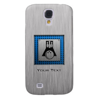 Bowler; Brushed metal-look Galaxy S4 Case
