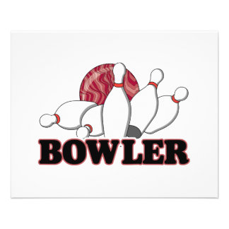 bowler 11.5 cm x 14 cm flyer