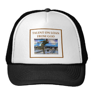 bowler mesh hats