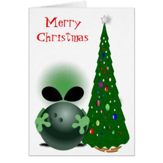 Bowler's Christmas Greeting Card