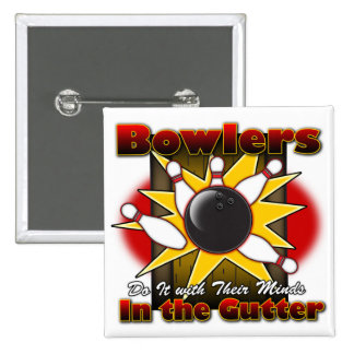Bowlers Do It 15 Cm Square Badge