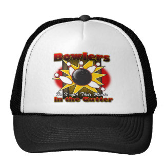 Bowlers Do It Mesh Hats