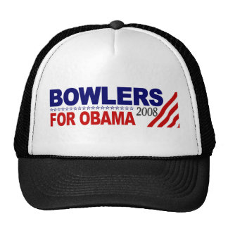 Bowlers For Obama Trucker Hats